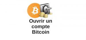 Comment créer un compte bitcoin : ouvrir une wallet !